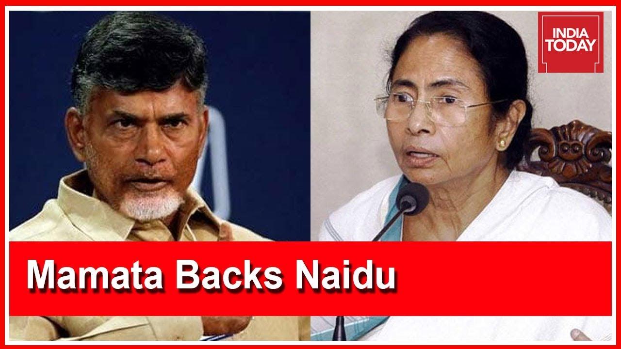 Bengal CM Mamata Backs CM Naidu's Decision To Block CBI From State