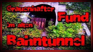 LOST PLACE - Grauenhafter Fund im alten Bahntunnel