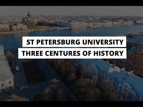 St Petersburg University: Three Centuries of History