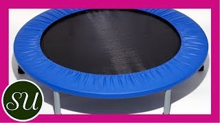 How to use a rebounder correctly with Gorgeously Green's Sophie Uliano on Fitness Friday