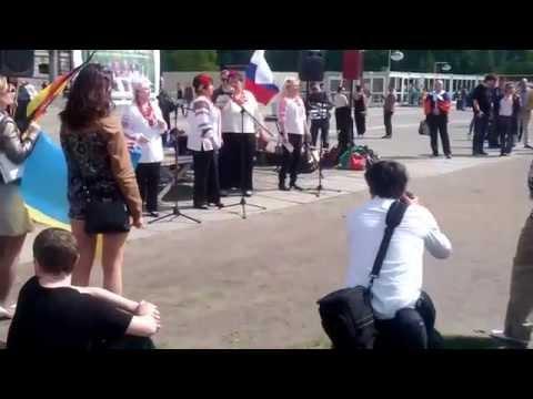 Friedensdemo 27 04 2014 Ukrainisch-Russische-Deutsche-Freundschaft