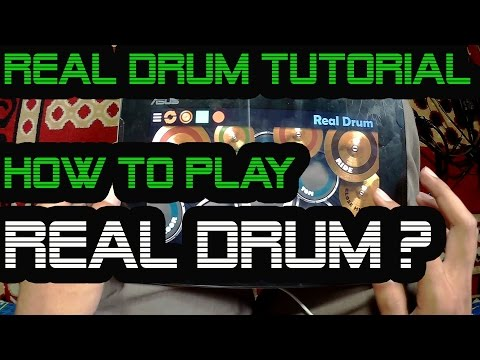 Real Drum Tutorial : How to play Real Drum ? (First Real Drum Lesson)
