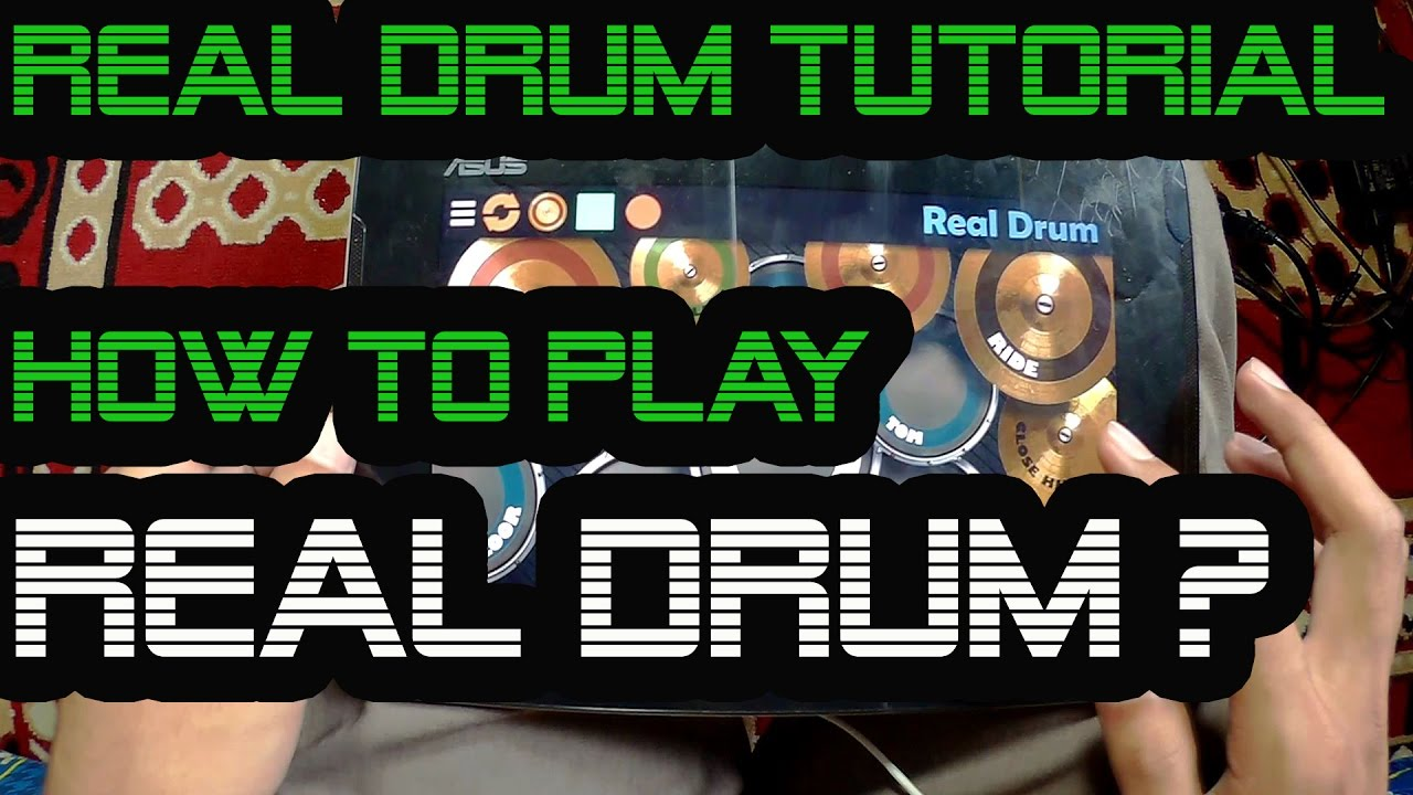 real drum tutorial how to play real drum first real drum lesson youtube