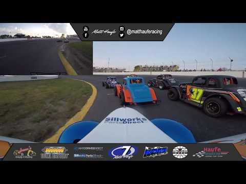 Sunset Speedway Velocity Weekend Ontario legends cars Heat Race #2  Matt Haufe #7 September 21, 2019
