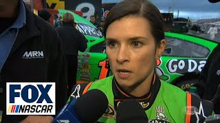 Danica Patrick upset about crash in Aaron