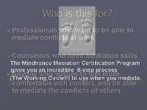 Mindhance Learning Mediation Certification - YouTube