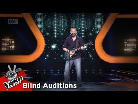 Άγγελος Τσιμιδάκης  On Broadway  6o Blind Audition  The Voice of Greece