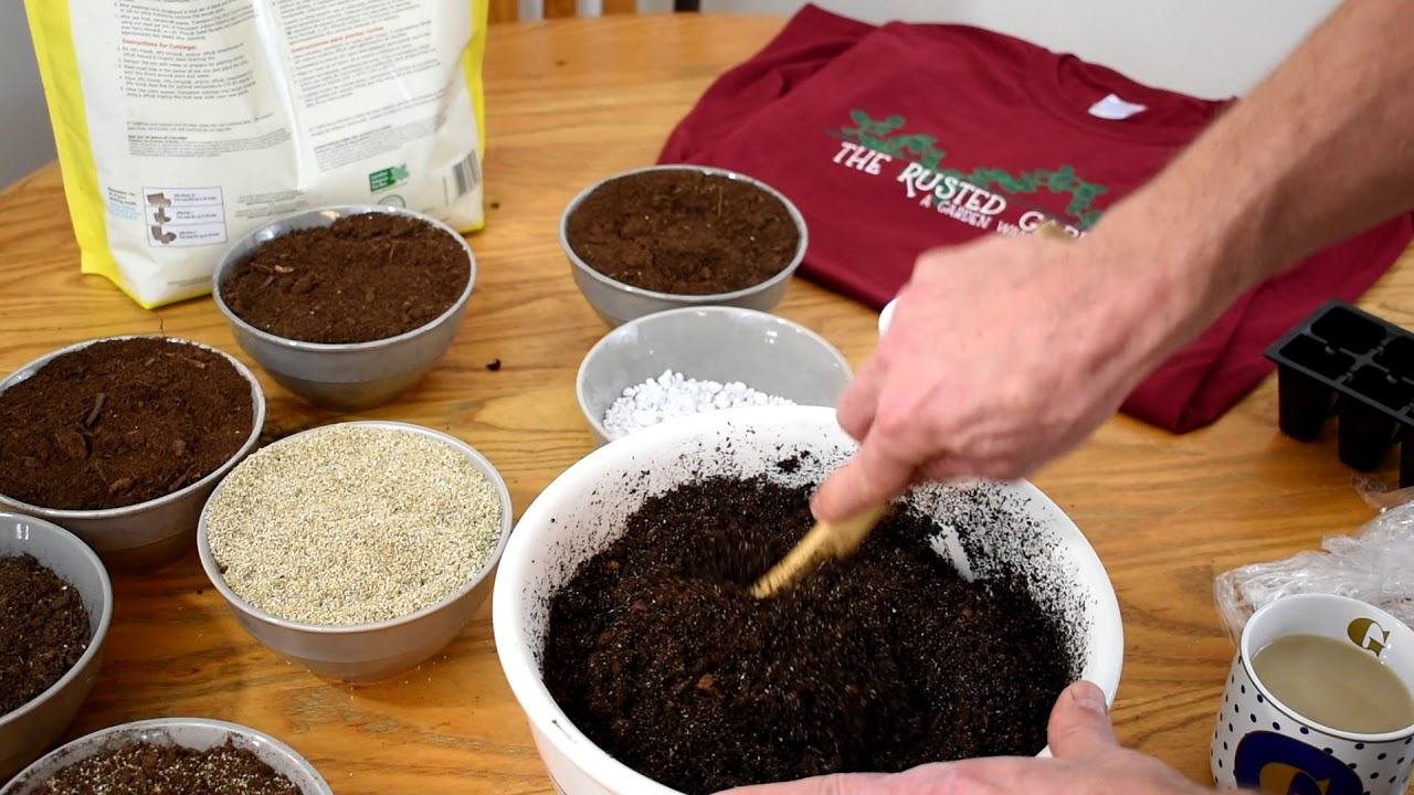 How To Make Inexpensive Sterile Starting Potting Mix Peat