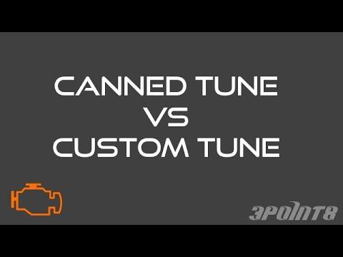 Tunes: Canned vs Custom
