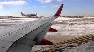 Southwest Airlines B737-7H4 KMDW 31C Departure