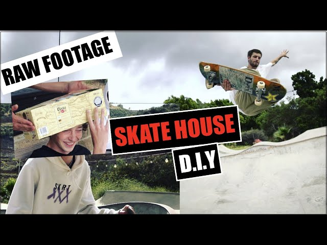 SKATE HOUSE (PORCH BOYS) - BACKYARD DIY RAW