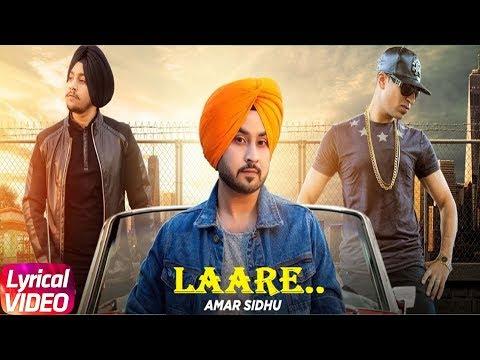 Laare | Lyrical Video | Aman Sandhu Ft. Roach Killa | Latest Punjabi Song 2018 | Speed Records