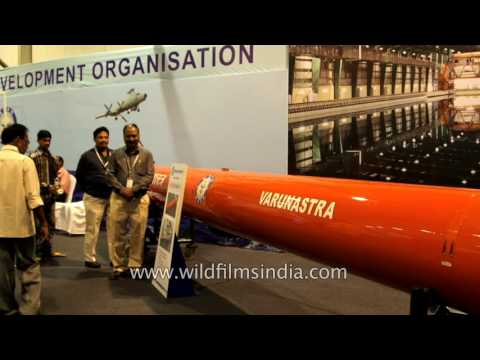 Varunastra, an advanced heavyweight anti-submarine torpedo of India