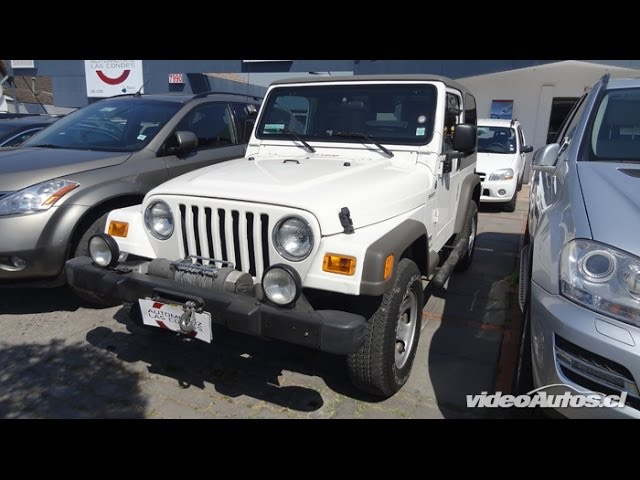 www.VideoAutos.cl :: Autos Usados con Video :: Jeep Wrangler Sport Videos De Viajes