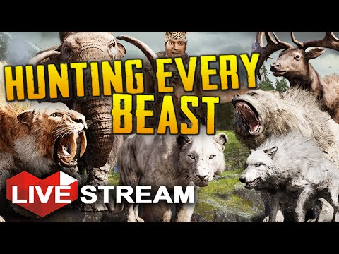 Far Cry Primal | Hunting ALL the Animals! | Gameplay Livestream