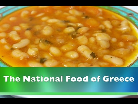 Delicious Beans Soup - The National Food Of Greece - Fasolada