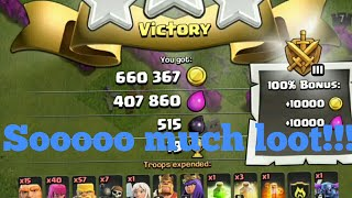 The best way to get loot in Clash of Clans