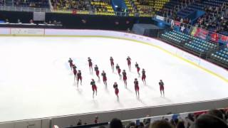WJSSC 2015 Zagreb - Team Musketeers - Finland 1 - Free Skating