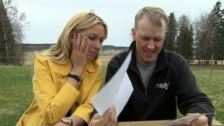 Anders blir generad av komplimangerna i breven - Bonde söker fru (TV4)