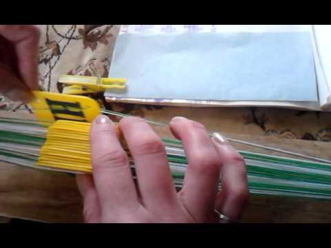 Плетение на дощечках. Часть 1.