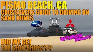 Crossovers Guide to driving on Sand Dunes (Get Groceries in soft sand!)