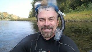 Snorkeling For River Treasure