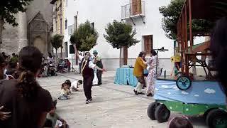 """""""EL AEROPLANO"""" - Compañía EL CARROMATO, Teatro de Calle."""