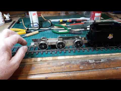 Building an O gauge DMR J17 kit for West Green Part 1