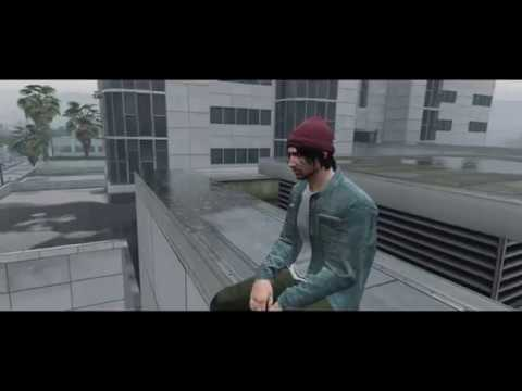 ghostemane ft lil peep - niagara (gta 5 unofficial music video)