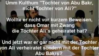 Debatte zwischen AhluSunnah und Rafidha -Finish-