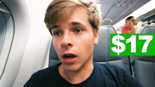 I BOOKED THE CHEAPEST FLIGHT IN EUROPE