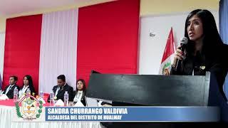 EN SESIÓN SOLEMNE DE FIESTAS PATRIAS SE HICIERON GRANDES ANUNCIOS EN BENEFICIO DE LA POBLACIÓN