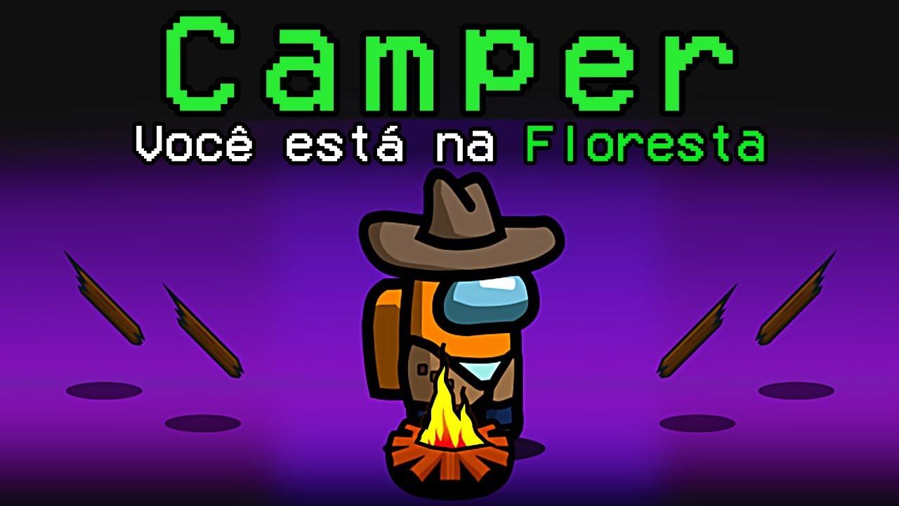 Among Us mas ESTAMOS NA FLORESTA (SinglePlayer Among The Woods)