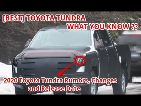 [BEST] 2020 Toyota Tundra Rumors, Changes and Release Date