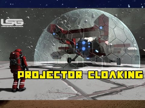 Space Engineers - Projector Cloaking Device, Stealth Concept