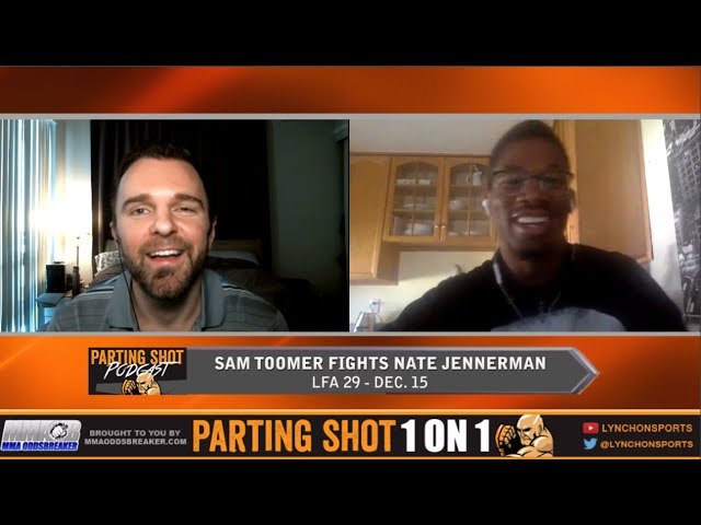 Sam Toomer Talks LFA debut Dec. 15, Classic Video Games and Potential UFC Call-Up