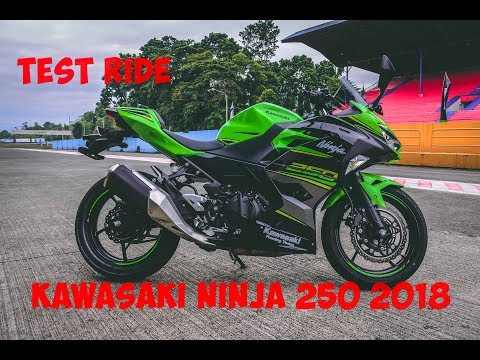 SPECIAL Test Ride Kawasaki Ninja 250 2018 PERTAMA di Sentul International Circuit