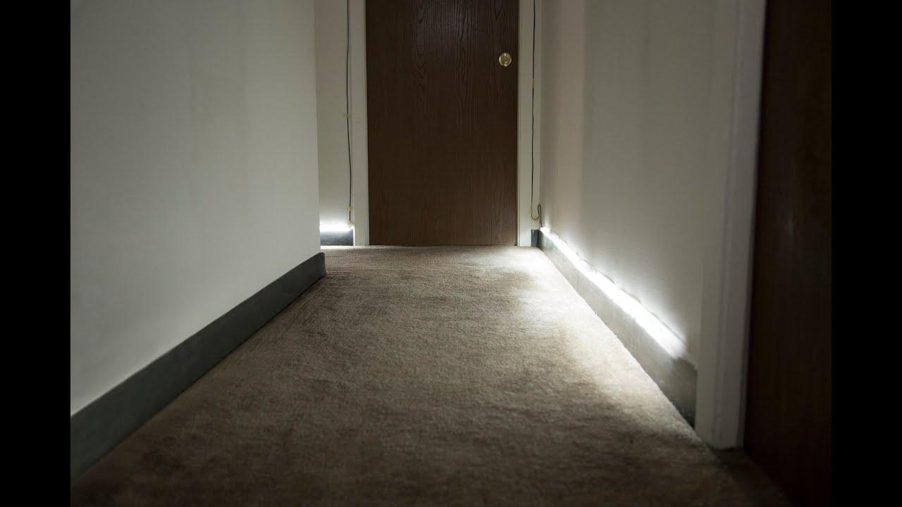 Customizable MotionActivated Floor Runner Lights by