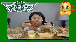 WING STOP FEAST  -  It's MUKBANG TIME!!!