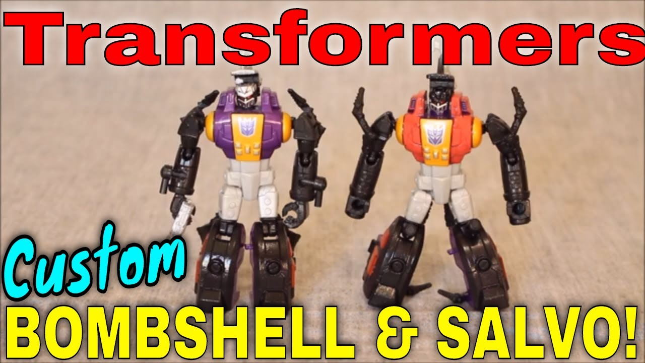 2 is Better than 1: Custom CW Bombshell and Salvo! By GotBot