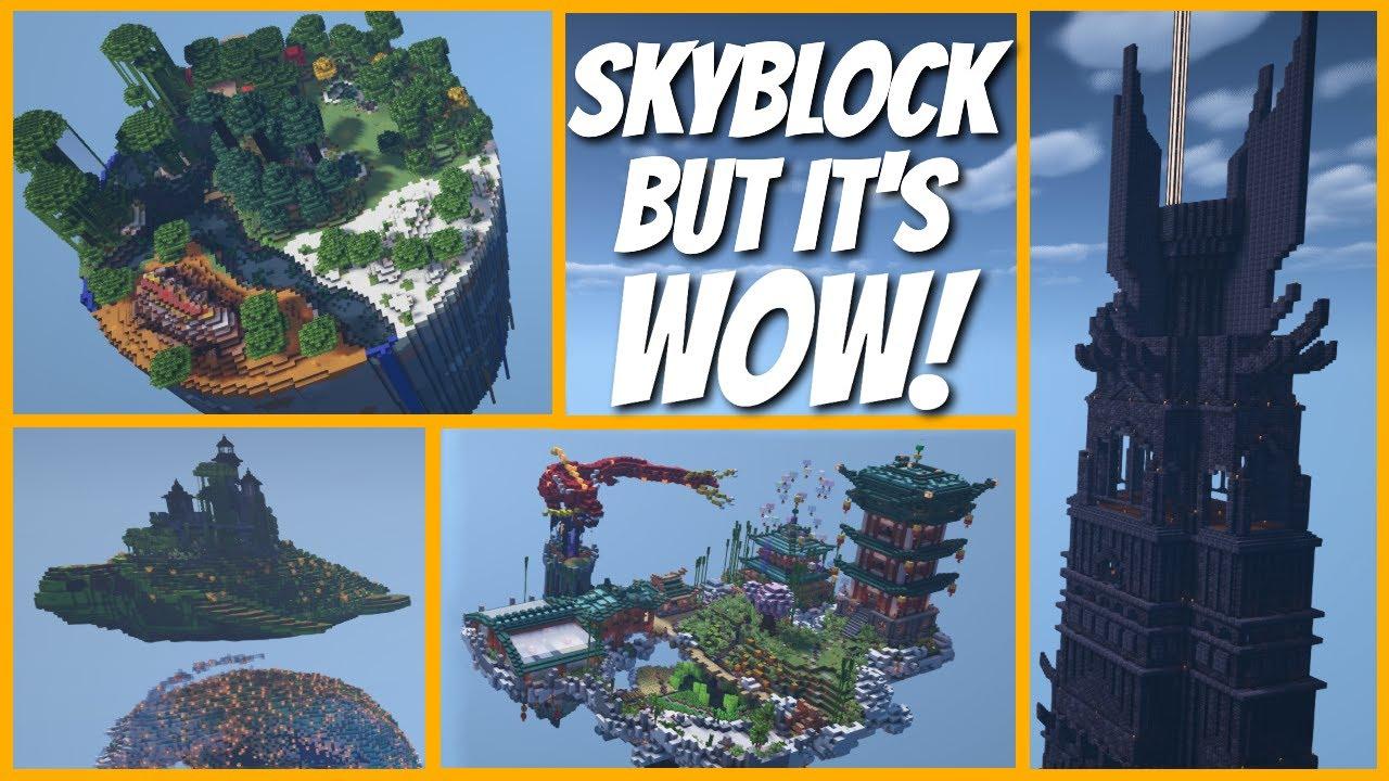 How to Build a Minecraft Skyblock Island LIKE A PRO | Season 2 island Tour AMAZING (2021)