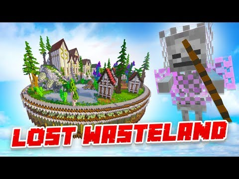 INSANE LOST WASTELAND LOOTING! - Minecraft SKYBLOCK #5 (Season 3)