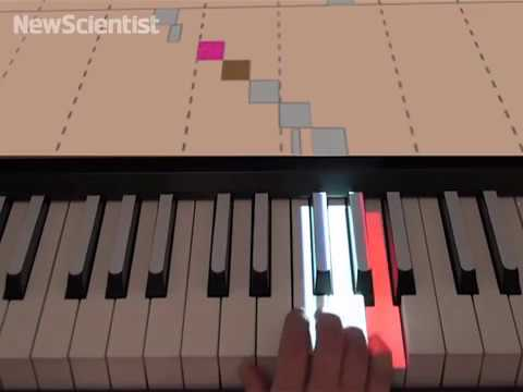 The 'Simply Amazing' Invention Aimed at Helping 'Novices Learn to Play the Piano Without Reading Music'