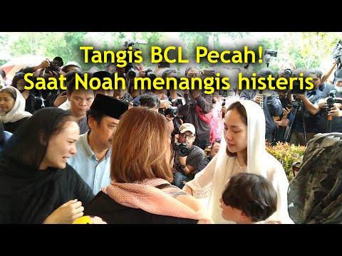 Live exclusive. Tangis BCL dan Noah anaknya pecah! Pemakaman Suami BCL Ashraf Sinclair