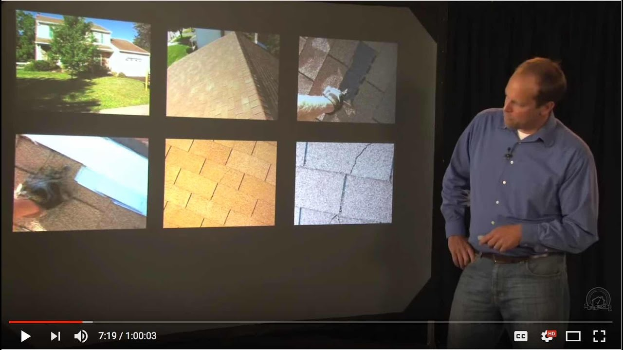 Home Inspection Training Class 2 Youtube