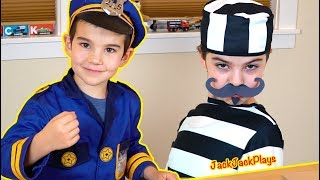 Costume Pretend Play - Police, Robber, and Candy Scientist
