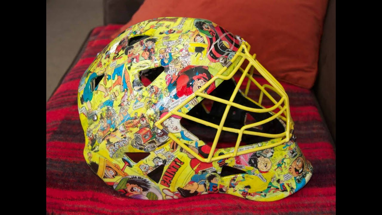 Football Helmet Vinyl Wraps : Hockey helmet collage youtube