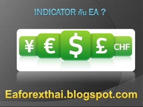 [บทเรียน Forex ตอน 9] Indicator กับ EA คืออะไร ?