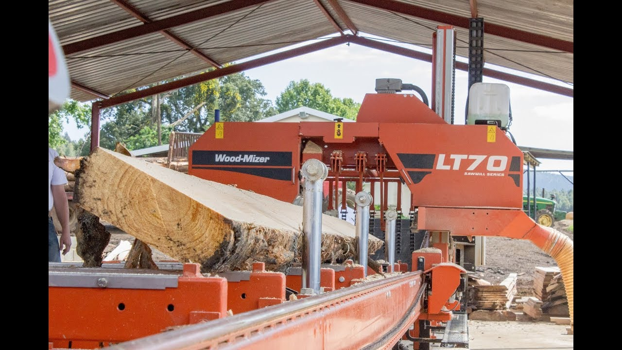 Wood-Mizer LT70 Sawmill Grows South African Farm Income - Wood-Mizer