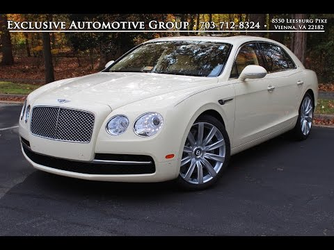 2015 Bentley Flying Spur | Review, Walk Around, For Sale / Lease | Bentley Tysons